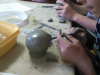 Oblikovanje z glino, 8. razred